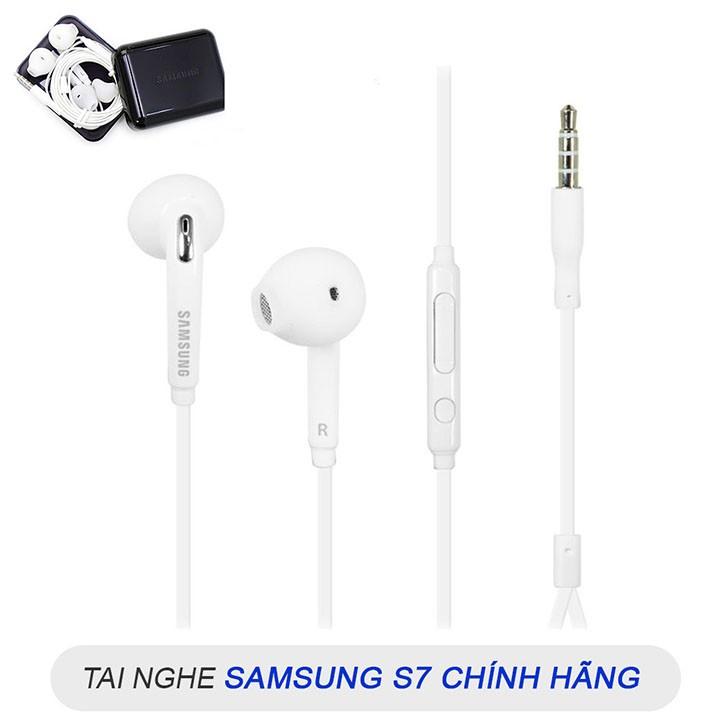 Tai Nghe Samsung Chính Hãng Galaxy S7 Âm Thanh Cực Đỉnh - Tai Nghe S7 Samsung