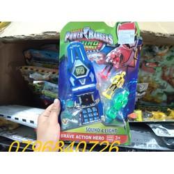Đồ chơi điện thoại siêu nhân gao pin