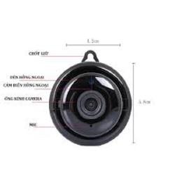Camera Ip Wifi V380 treo tường - Camera Ip Wifi V380 - tặng kèm thẻ nhớ 32G [ĐƯỢC KIỂM HÀNG] [ĐƯỢC KIỂM HÀNG]