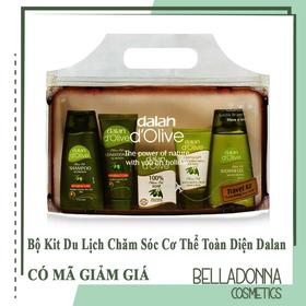 Bộ Kit Du Lịch Chăm Sóc Cơ Thể Toàn Diện Từ Tinh Dầu Ô Liu Dalan D'olive Travel Kit - dalan-kit