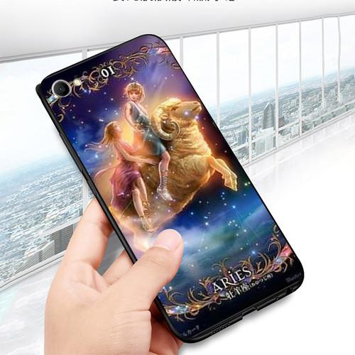 Ốp điện thoại dành cho máy oppo f7 youth  -  realme 1 - 811 12 cung hoàng đạo ms chd001