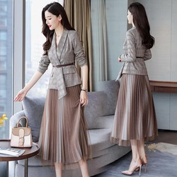 192B9 - Set áo vest và chân váy hàng nhập - giá 1.240k