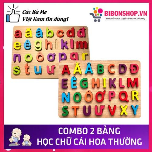 Bộ 2 bảng chữ cái tiếng việt in hoa và in thường đồ chơi gỗ an toàn cho bé - 20704590 , 23679093 , 15_23679093 , 160000 , Bo-2-bang-chu-cai-tieng-viet-in-hoa-va-in-thuong-do-choi-go-an-toan-cho-be-15_23679093 , sendo.vn , Bộ 2 bảng chữ cái tiếng việt in hoa và in thường đồ chơi gỗ an toàn cho bé