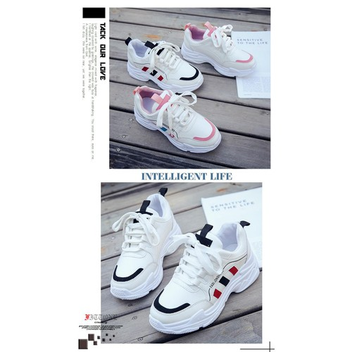 Giày thể thao nữ độn đế fashion