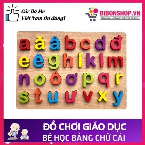Đồ chơi gỗ bảng chữ cái tiếng việt nổi in thường cho bé học chữ cái - 19429034 , 23679363 , 15_23679363 , 100000 , Do-choi-go-bang-chu-cai-tieng-viet-noi-in-thuong-cho-be-hoc-chu-cai-15_23679363 , sendo.vn , Đồ chơi gỗ bảng chữ cái tiếng việt nổi in thường cho bé học chữ cái