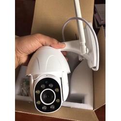 Camera giám sát không dây Ngoài trời Xoay 360 Full HD - Quay đêm có màu - Camera giám sát PTZ- Kèm thẻ nhớ 32G [ĐƯỢC KIỂM HÀNG] [ĐƯỢC KIỂM HÀNG]