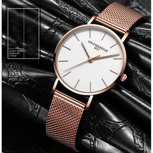Trợ giá khủng đồng hồ nữ ontheedge 021 chính hãng thiết kế sang trọng cao cấp full box