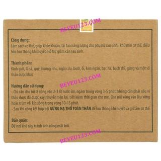 Hộp 2 túi xông toàn thân thảo dược cho Mẹ sau sinh - WonMom - TAM03 2