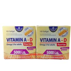 [CHÍNH HÃNG]-Viên Uống Vitamin A- D đẹp da -chống lão hoá- mịn da - Viên Uống Vitamin A- D