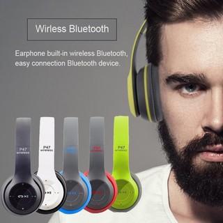 Tai nghe - Tai nghe Bluetooth - P47 - Tai nghe chụp tai thumbnail