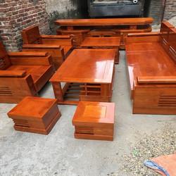 Bộ bàn ghế sofa gỗ sồi