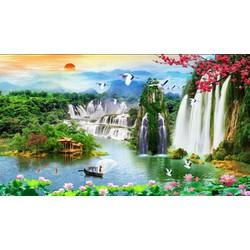 Tranh 3D dán tường Zalo 0967959399