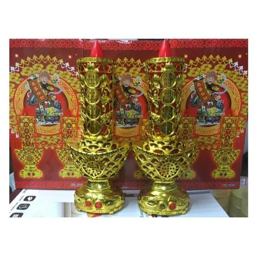 Cặp đèn thờ xoay trang trí tết md58