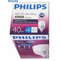 BÓNG LED BULD TRỤ 40w PHILIPS _high lumen _kín nước PHILIPS