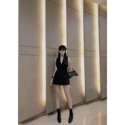 Đầm cao cấp vest eo tsi