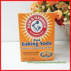 Bột Baking Soda Đa Công Dụng Hộp Giấy 454Gram