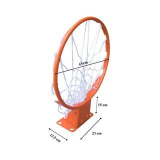 Vành bóng rổ thi đấu 45 cm dùng cho thi đấu và giảng dạy - Chịu lực 150kg thumbnail