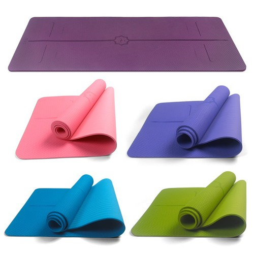 Thảm yoga kèm túi đựng cao cấp - thảm - thảm yoga - thảm tập yoga - thảm nhiều mầu kèm túi