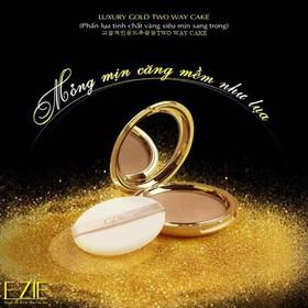 Phấn Lụa Ezie Tinh Chất Vàng siêu mịn 23 g - có tone 13 và tone 21 - phấn lụa ezie