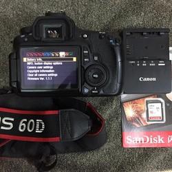 Máy ảnh Canon 60D kèm ống canon 18-55 is 2