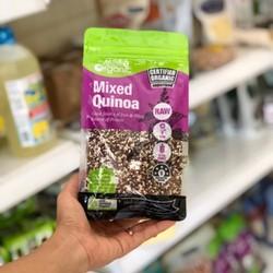Hạt diêm mạch ba màu hữu cơ quinoa organic