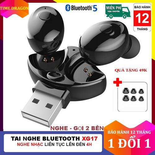 Tai nghe bluetooth không day 5.0 xg 17, tai nghe bluetooth 5.0 xg17 tws, tai nghe không dây, tai nghe giá rẻ, tai nghe bluetooth chống nước - chống ồn - tích hợp micro - tự động kết nối - nhỏ gọn tươn - 21079750 , 24214204 , 15_24214204 , 199000 , Tai-nghe-bluetooth-khong-day-5.0-xg-17-tai-nghe-bluetooth-5.0-xg17-tws-tai-nghe-khong-day-tai-nghe-gia-re-tai-nghe-bluetooth-chong-nuoc-chong-on-tich-hop-micro-tu-dong-ket-noi-nho-gon-tuong-thich-voi-cac-d