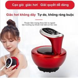 Máy cạo gió massage không dây 6 chế độ Led Hồng Ngoại - Home and Garden