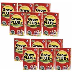 Sữa nuti growplus đỏ 110ml -1 thùng 48h - đặc trị trẻ suy dinh dưỡng thấp còi