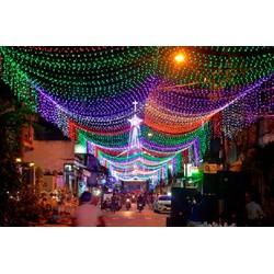 Đèn LED Trang Trí NOEL Nhiều Màu - Dây Loại Tốt Màu Đen 50mét
