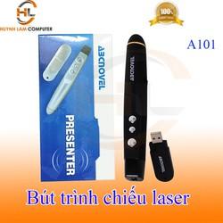 Bút trình chiếu Slide Laser không dây Wireless ABCNOVEL A101 màu đen