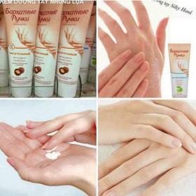 Kem dưỡng da tay SILKY HANDS của Nga - Kem dưỡng da tay
