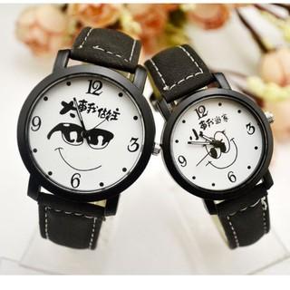 đồng hồ cặp 2 cái nam nữ hàn quốc - hq01 thumbnail