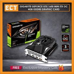 Card màn hình VGA GIGABYTE GeForce GTX 1650 MINI ITX OC 4G - GTX 1650 MINI ITX OC 4G