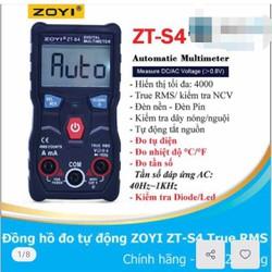 đồng hồ vạn năng ZOYI ZT-S4 đồng hồ đo tự động hoàn toàn