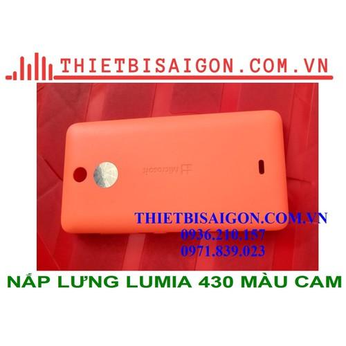 Nắp lưng lumia 430 màu cam