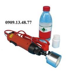 máy đóng nắp chai nước suối cầm tay, máy siết nắp chai nước mắm, nước tương, máy vặn nắp chai thủ công