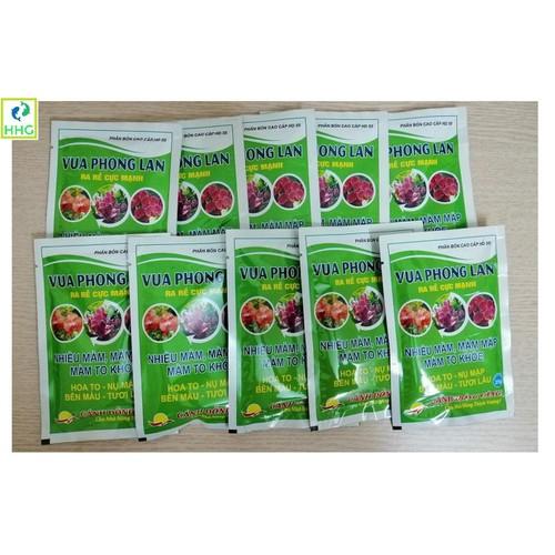 Combo 10 gói phân bón cao cấp hd55 vua phong lan, ra rễ cực mạnh, nhiều mầm, mầm to khỏe, hoa to, tươi lâu, gói 25g - 21283325 , 24509513 , 15_24509513 , 80000 , Combo-10-goi-phan-bon-cao-cap-hd55-vua-phong-lan-ra-re-cuc-manh-nhieu-mam-mam-to-khoe-hoa-to-tuoi-lau-goi-25g-15_24509513 , sendo.vn , Combo 10 gói phân bón cao cấp hd55 vua phong lan, ra rễ cực mạnh, nhiều