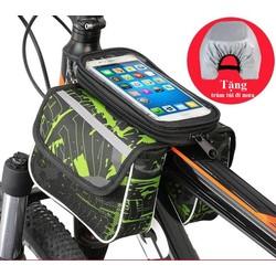 Túi treo điện thoại trên xe đạp