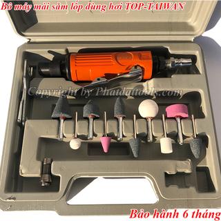 Bộ máy mài săm lốp dùng hơi TOP-Made in Taiwan-Máy mài săm đa năng Đài Loan - SLHTOP thumbnail