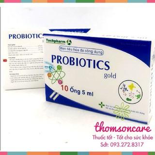 Men tiêu hóa Probiotics Gold - hỗ trợ tiêu hóa - hộp 10 ống - probiotics thumbnail