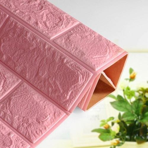 Combo 10 bộ xốp dán tường màu hồng