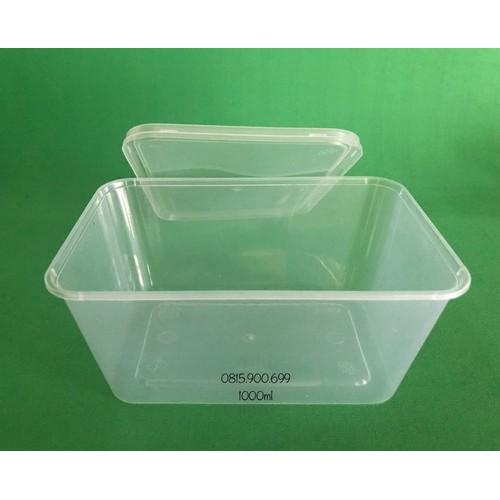 100 hộp nhựa hình chữ nhật pp 1000ml - 21283438 , 24509643 , 15_24509643 , 320000 , 100-hop-nhua-hinh-chu-nhat-pp-1000ml-15_24509643 , sendo.vn , 100 hộp nhựa hình chữ nhật pp 1000ml
