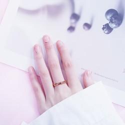 Nhẫn nam nữ chất liệu bạc 925 N003T nhiều màu đa dạng