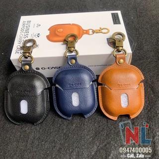 Ốp lưng da bảo vệ Airpods chính hãng G-case - alopk2851 thumbnail