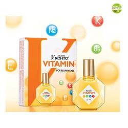 Nhỏ dưỡng mắt V Rohto vitamin