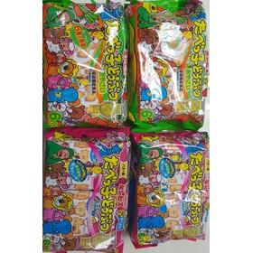 Bánh ăn dặm Ginbis hình thú bổ sung DHA nhập khẩu Nhật Bản - gói 150g - BA005