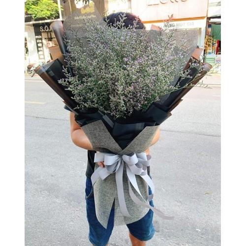 Bb022 bó hoa sao tím khổng lồ