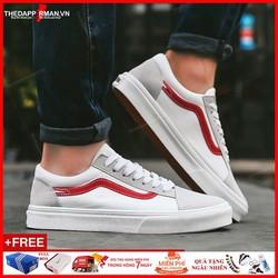 Giày Sneaker Nam Trắng