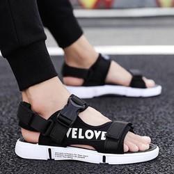 [FREE SHIP] Giày dép SANDAL quai hậu kiểu dáng thời trang nam, đế cao su bền đẹp cực kỳ êm chân