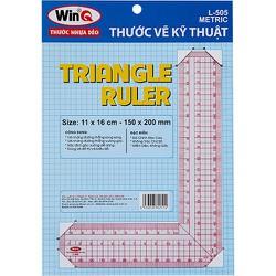 Thước vẽ kỹ thuật, Thước L, Thước đo góc vuông Template Ruler